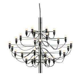 Flos 2097/30 kynttiläkruunu valaisin, kromi