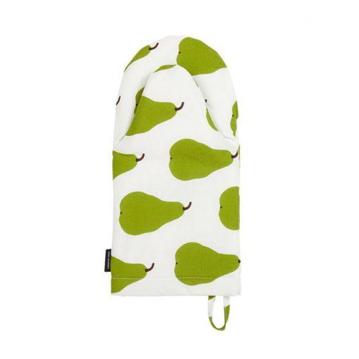 Marimekko Pieni Päärynä uunikinnas, vihreä