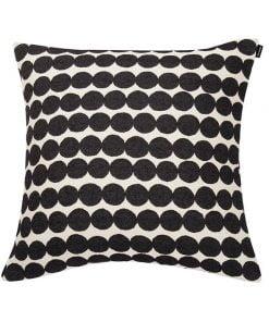 Marimekko Räsymatto tyynynpäällinen, musta-valkoinen