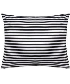 Marimekko Tasaraita tyynyliina, mustavalkoinen