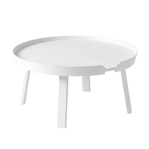 Muuto Around pöytä, iso, valkoinen