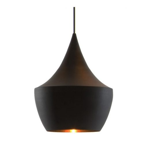Tom Dixon Beat Light Fat valaisin, musta