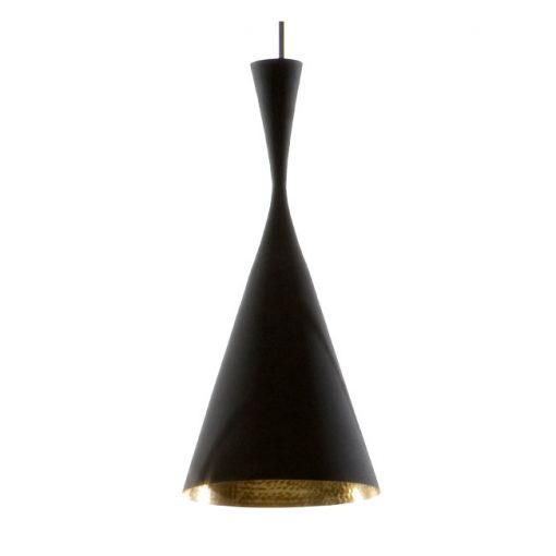 Tom Dixon Beat Light Tall valaisin, musta