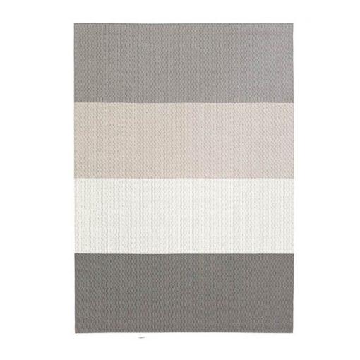 Woodnotes Fourways matto, vaaleanharmaa-valkoinen