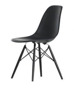 Vitra Eames DSW tuoli, musta