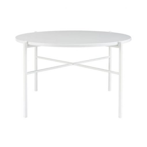 Hakola Round sohvapöytä, valkoinen