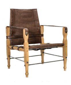 Safari tuoli, ruskea