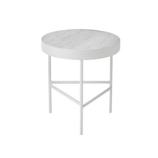Ferm Living Marmoripöytä, valkoinen