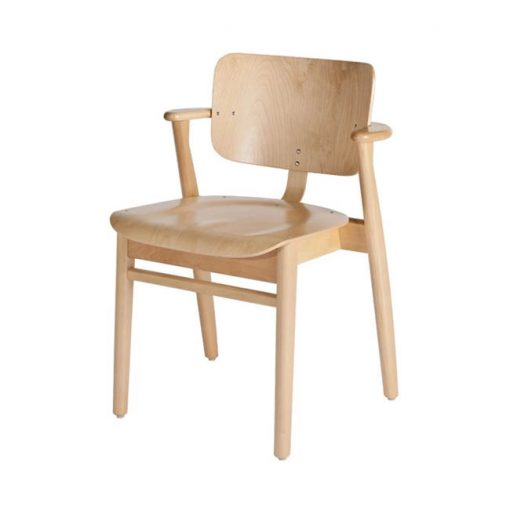 Artek Domus tuoli, lakattu koivu