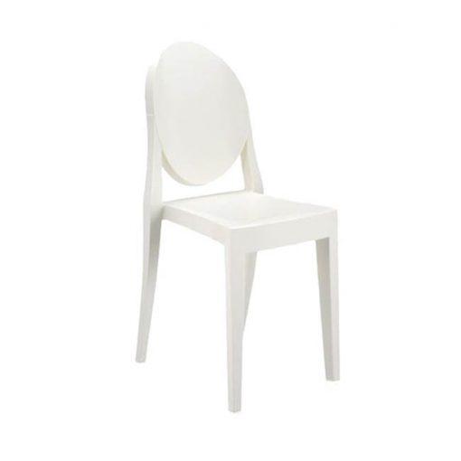 Kartell Victoria Ghost tuoli, valkoinen