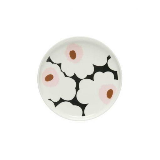 Marimekko Oiva – Unikko lautanen 13,5 cm