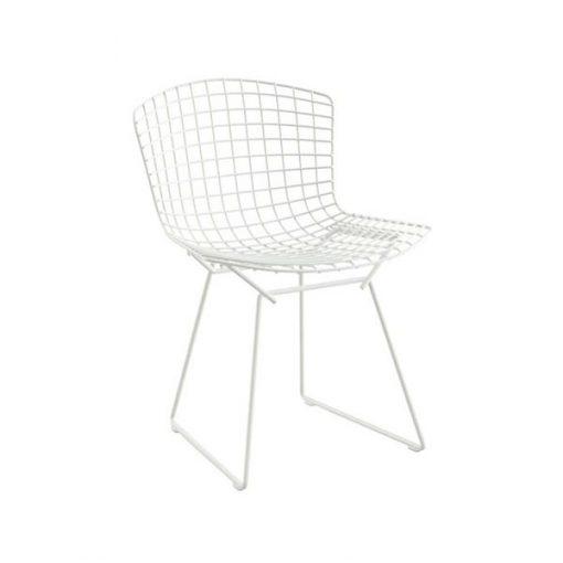 Knoll Bertoi tuoli, valkoinen