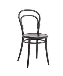 Ton No 14 tuoli, musta