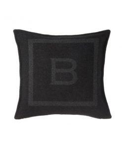 Balmuir B-logo tyynynpäällinen, musta
