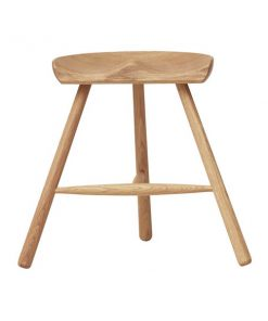 Form & Refine Shoemaker Chair No. 49 jakkara, valkoöljytty tammi