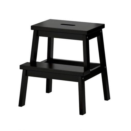Ikea Bekväm jakkara, musta