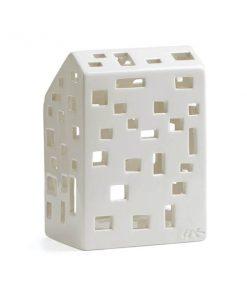 Kähler Urbania Funkis kynttilälyhty, valkoinen