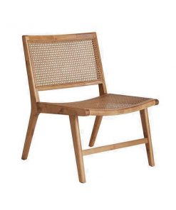 Ellos Helle lounge tuoli, ruskea