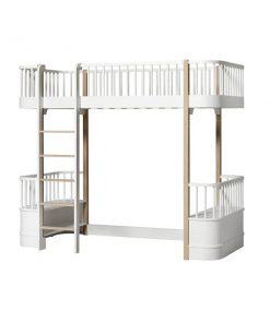Oliver Furniture Wood loftsänky, valkoinen