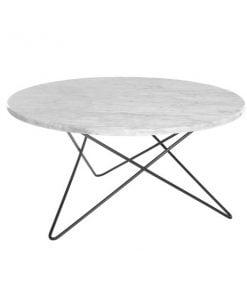 OX Denmarq O pöytä, valkoinen marmori