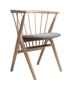 Sibast No 8 tuoli, tammi-harmaa