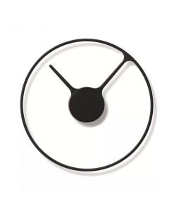 Stelton Time kello, musta