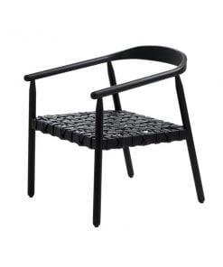 Adea Fay tuoli, musta