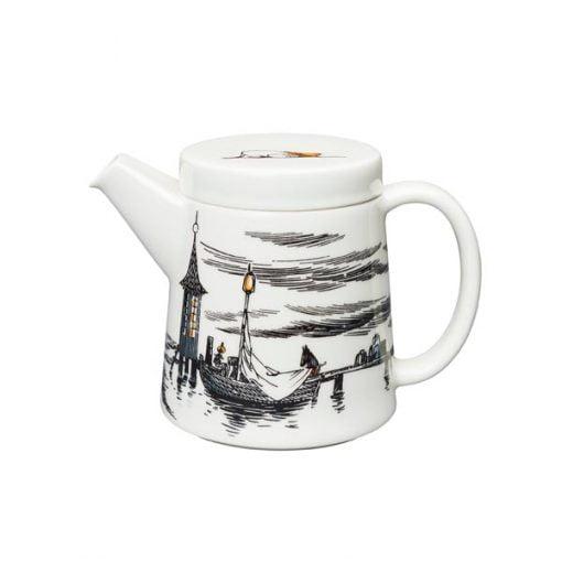 Muumit teekannu Alkuperää kunnioittaen