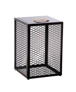 Maze The Cube sivupöytä, tummanruskea