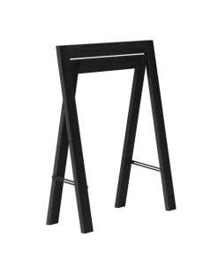 Form & Refine Austere pukkijalat, musta