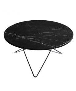 OX Denmarq O pöytä, musta marmori