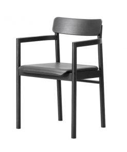 Fredericia Post tuoli, musta