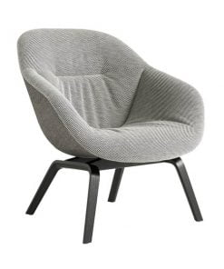 Hay About A Lounge Chair AAL83 Soft Duo nojatuoli, musta