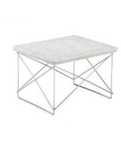 Vitra Eames LTR Occasional pöytä, valkoinen marmori