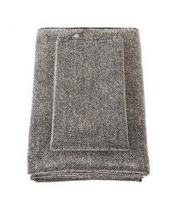 Lapuan Kankurit Kivi pyyhe, musta - pellava