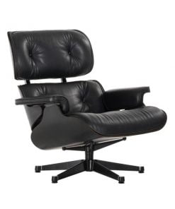 Vitra Eames Lounge Chair, musta