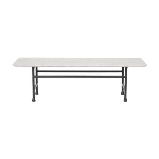 Basta Forte pöytä, valkoinen marmori
