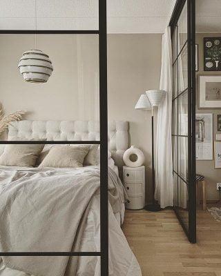 Designin klassikoilla kuorrutettu kaunis koti