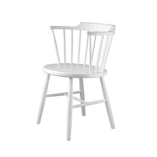 FDB Møbler J18 tuoli, valkoinen