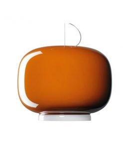Foscarini Chouchin 1 riippuvalaisin, oranssi
