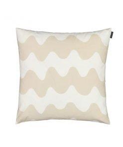 Marimekko Pikku Lokki tyynynpäällinen, valkoinen - beige