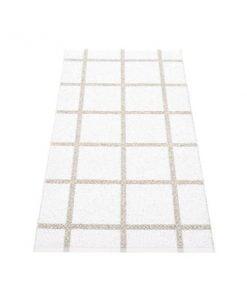 Pappelina Ada matto, valkoinen