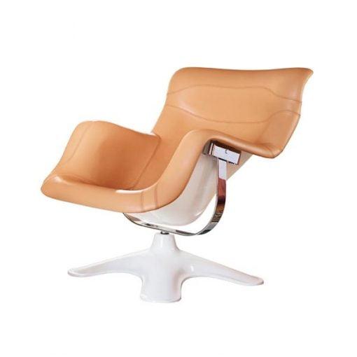 Artek Karuselli nojatuoli, nougat-valkoinen