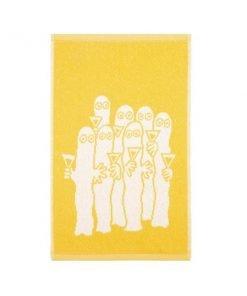 Finlayson Hattivatit käsipyyhe, keltainen
