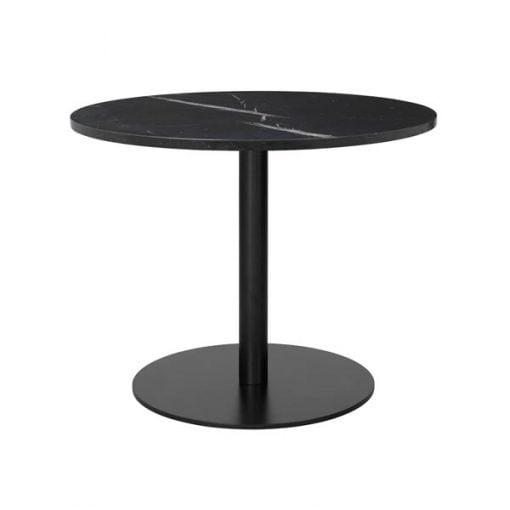 Gubi 1.0 sohvapöytä, musta - marmori