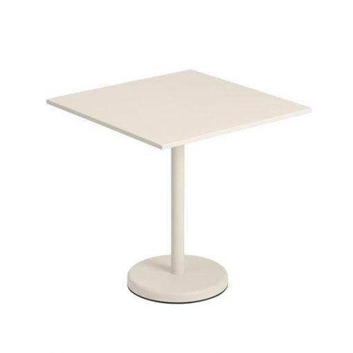 Muuto Linear Steel Café pöytä, luonnonvalkoinen
