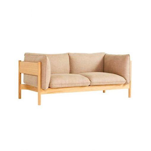 Hay Arbour sohva, 2-istuttava, tammi