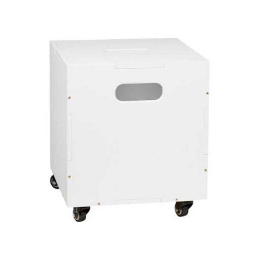 Nofred Cube säilytyslaatikko, valkoinen