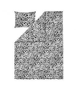 Iittala OTC Gepardi pussilakanasetti, musta - valkoinen