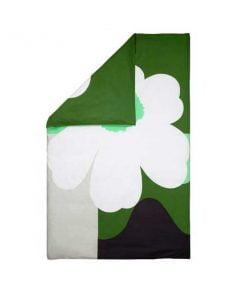 Marimekko Co-created pussilakana, vihreä